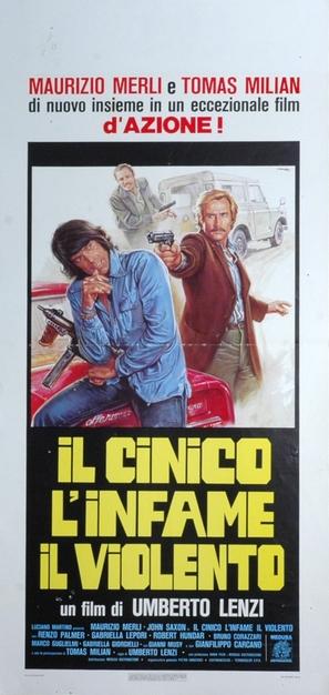 Il cinico, l'infame, il violento - Italian Movie Poster (thumbnail)