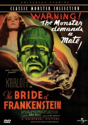 Bride of Frankenstein - DVD movie cover (thumbnail)