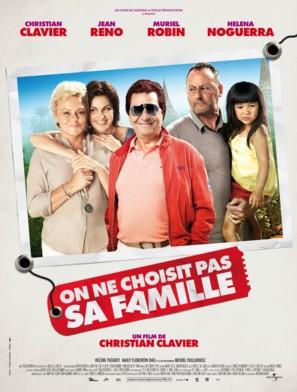On ne choisit pas sa famille - French Movie Poster (thumbnail)
