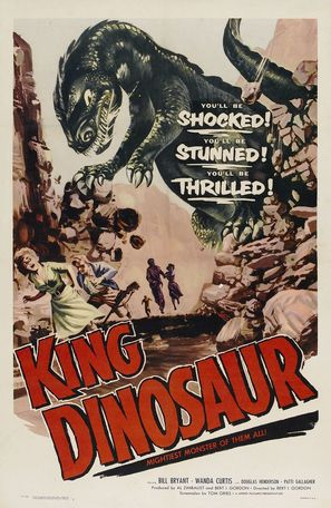 King Dinosaur - Movie Poster (thumbnail)