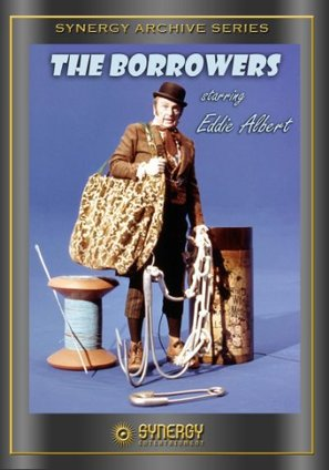 The Borrowers - DVD movie cover (thumbnail)