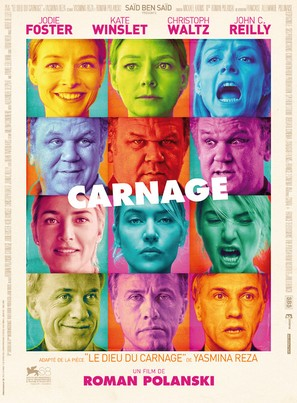 Carnage - French Movie Poster (thumbnail)