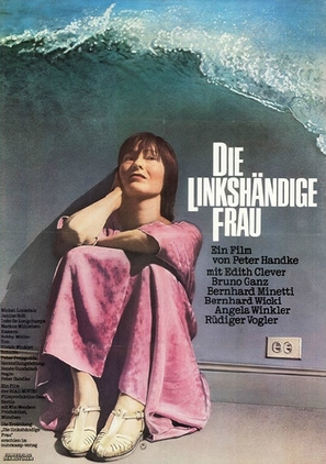 Die linkshändige Frau - German Movie Poster (thumbnail)