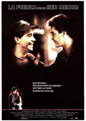 Dominick and Eugene - Spanish poster (thumbnail)