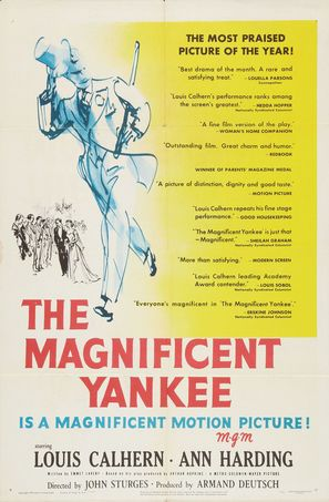 The Magnificent Yankee - Movie Poster (thumbnail)