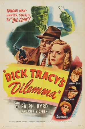 Dick Tracy's Dilemma - Movie Poster (thumbnail)