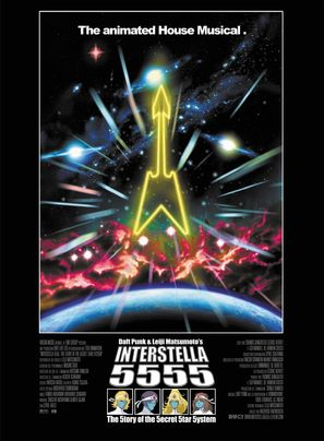 Interstella 5555: The 5tory of the 5ecret 5tar 5ystem - Movie Poster (thumbnail)