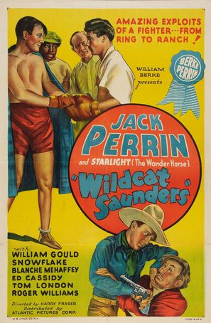 Wildcat Saunders - Movie Poster (thumbnail)