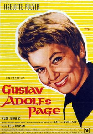 Gustav Adolfs Page - German Movie Poster (thumbnail)