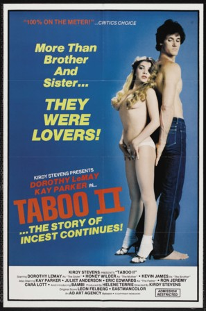 Taboo II - Movie Poster (thumbnail)