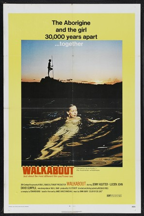 Walkabout - British Movie Poster (thumbnail)