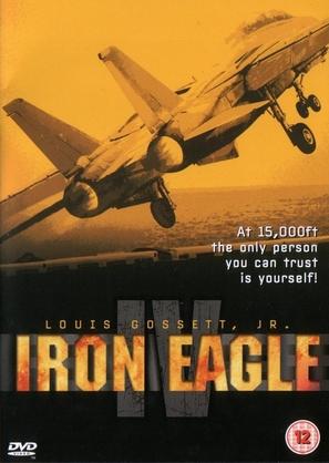 Iron Eagle IV - British Movie Cover (thumbnail)