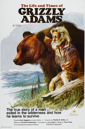 The Life and Times of Grizzly Adams - Movie Poster (thumbnail)