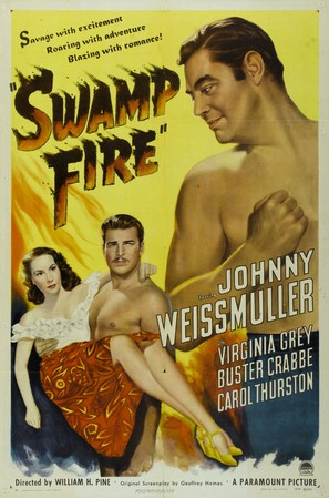 Swamp Fire - Movie Poster (thumbnail)