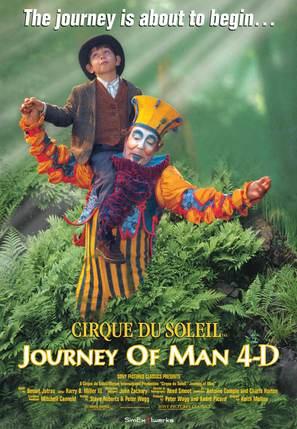 Cirque du Soleil: Journey of Man - Movie Poster (thumbnail)