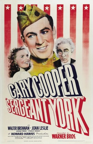 Sergeant York - Movie Poster (thumbnail)