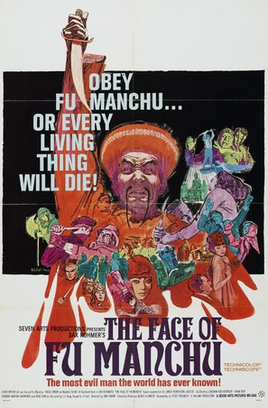 The Face of Fu Manchu - Movie Poster (thumbnail)
