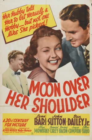 Moon Over Her Shoulder - Movie Poster (thumbnail)
