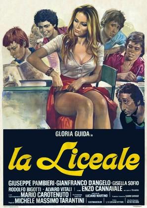 La liceale - Italian Movie Poster (thumbnail)