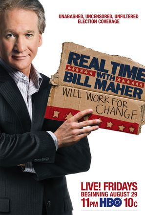 """Real Time with Bill Maher"" - Movie Poster (thumbnail)"
