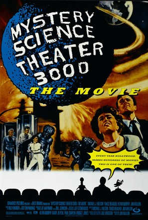 Mystery Science Theater 3000: The Movie - Movie Poster (thumbnail)