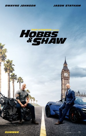 Fast & Furious Presents: Hobbs & Shaw - Movie Poster (thumbnail)