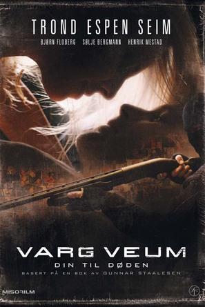 Varg Veum - Din til døden - Norwegian poster (thumbnail)