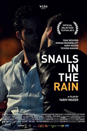 Snails in the Rain - Israeli Movie Poster (thumbnail)