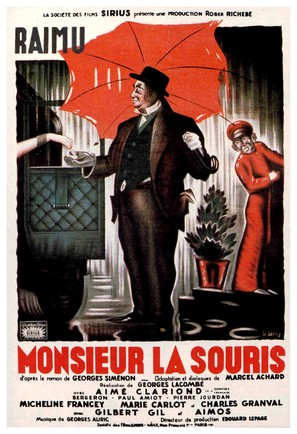 Monsieur La Souris - French Movie Poster (thumbnail)