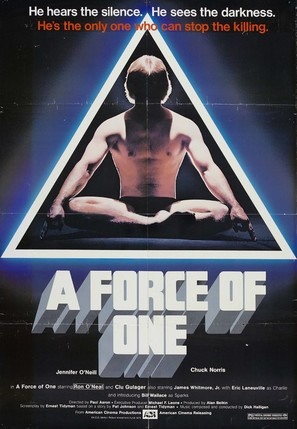 A Force of One - Movie Poster (thumbnail)