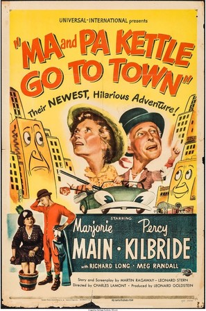 Ma and Pa Kettle Go to Town - Movie Poster (thumbnail)