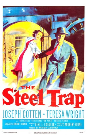 The Steel Trap - Movie Poster (thumbnail)