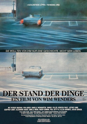 Stand der Dinge, Der - German Movie Poster (thumbnail)