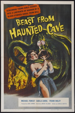 Beast from Haunted Cave - Movie Poster (thumbnail)