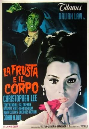 La frusta e il corpo - Italian Movie Poster (thumbnail)