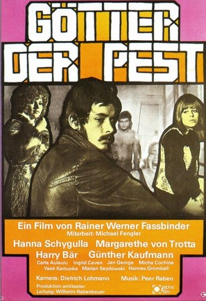 Götter der Pest - German Movie Poster (thumbnail)