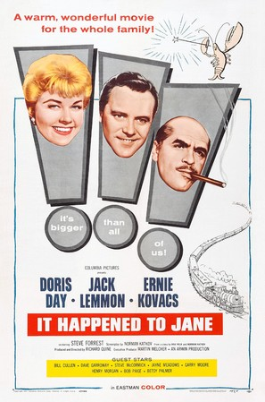 It Happened to Jane - Theatrical poster (thumbnail)