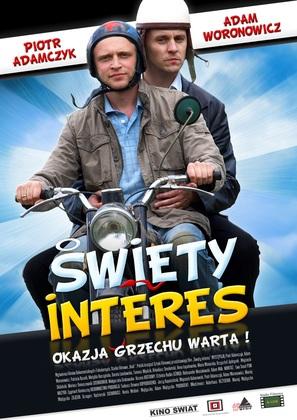 Swiety interes - Polish Movie Poster (thumbnail)