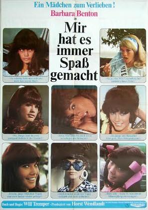 Mir hat es immer Spaß gemacht - German Movie Poster (thumbnail)