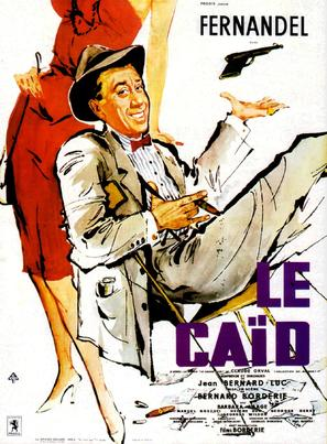 Le caïd - French Movie Poster (thumbnail)