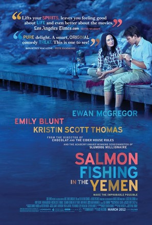 Salmon Fishing in the Yemen - Movie Poster (thumbnail)