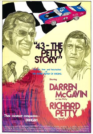 43: The Richard Petty Story - Movie Poster (thumbnail)