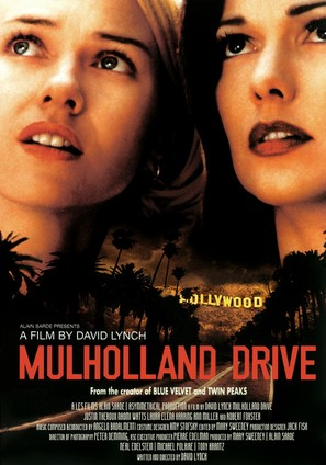 Mulholland Dr. - Movie Poster (thumbnail)