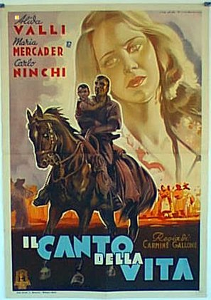 Il canto della vita - Indian Movie Poster (thumbnail)
