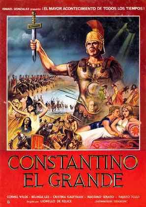 Costantino il grande - Spanish Movie Poster (thumbnail)