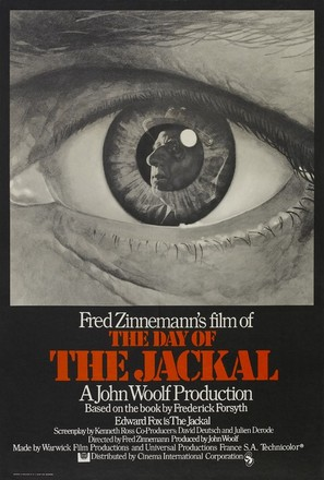 The Day of the Jackal - British Movie Poster (thumbnail)