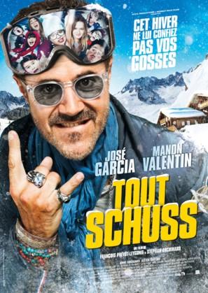 Tout schuss - French Movie Poster (thumbnail)