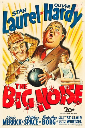 The Big Noise - Movie Poster (thumbnail)