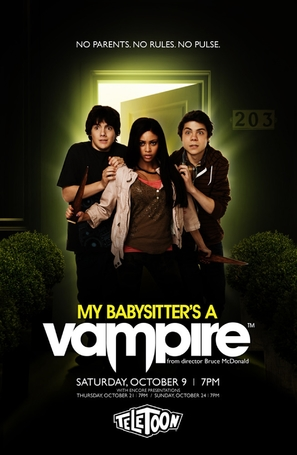 My Babysitter's a Vampire - Canadian Movie Poster (thumbnail)
