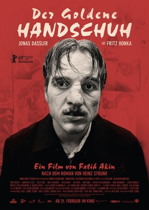 Der goldene Handschuh - German Movie Poster (thumbnail)